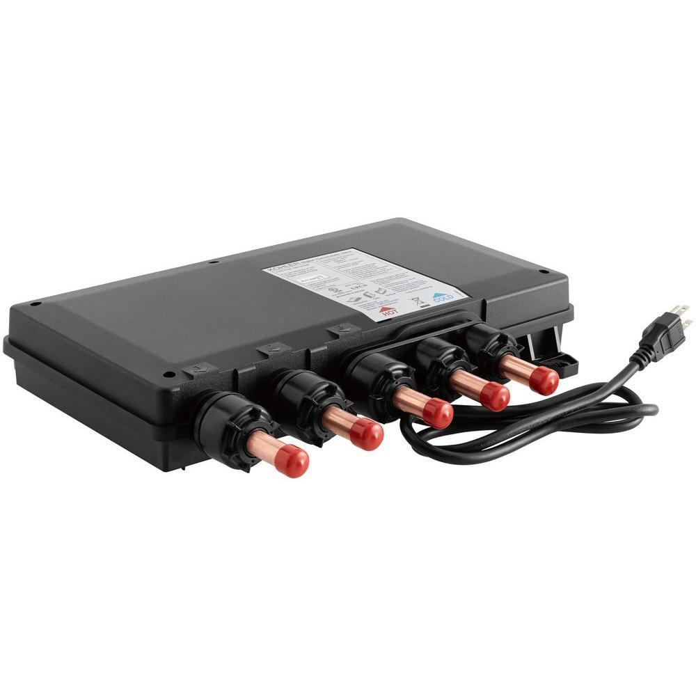 DTV Prompt Digital 3-Port Thermostatic Valve