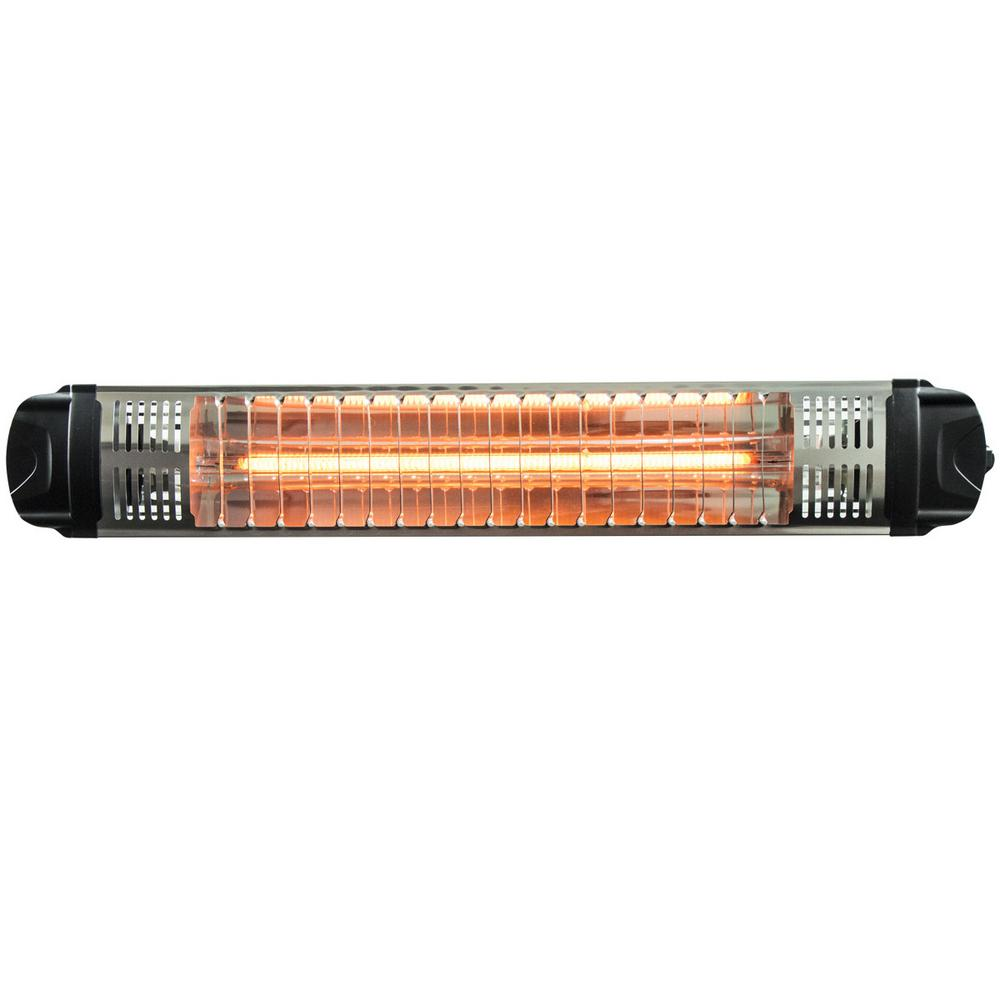 Workspace Outdoor 1,500-Watt Infrared Quartz Portable Heater with On/Off Switch