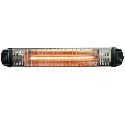 Workspace Outdoor 1,500-Watt Infrared Quartz Portable Heater with On/Off Switch and Wall/Ceiling Mount