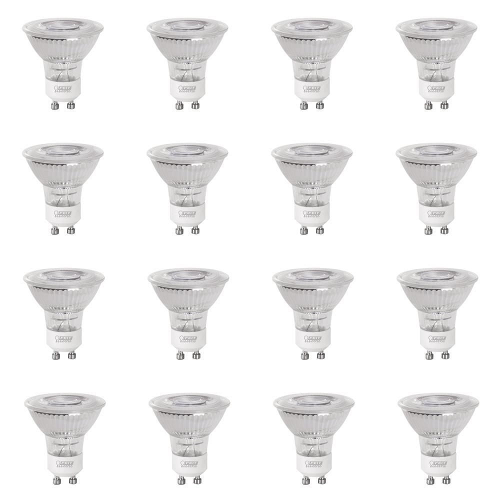 35-Watt Equivalent (3000K) MR16 GU10 Dimmable LED Flood Light Bulb, Warm White (12-Pack)