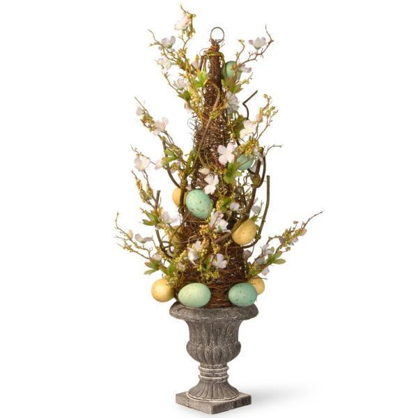 27 in. Easter Egg Potted Tree