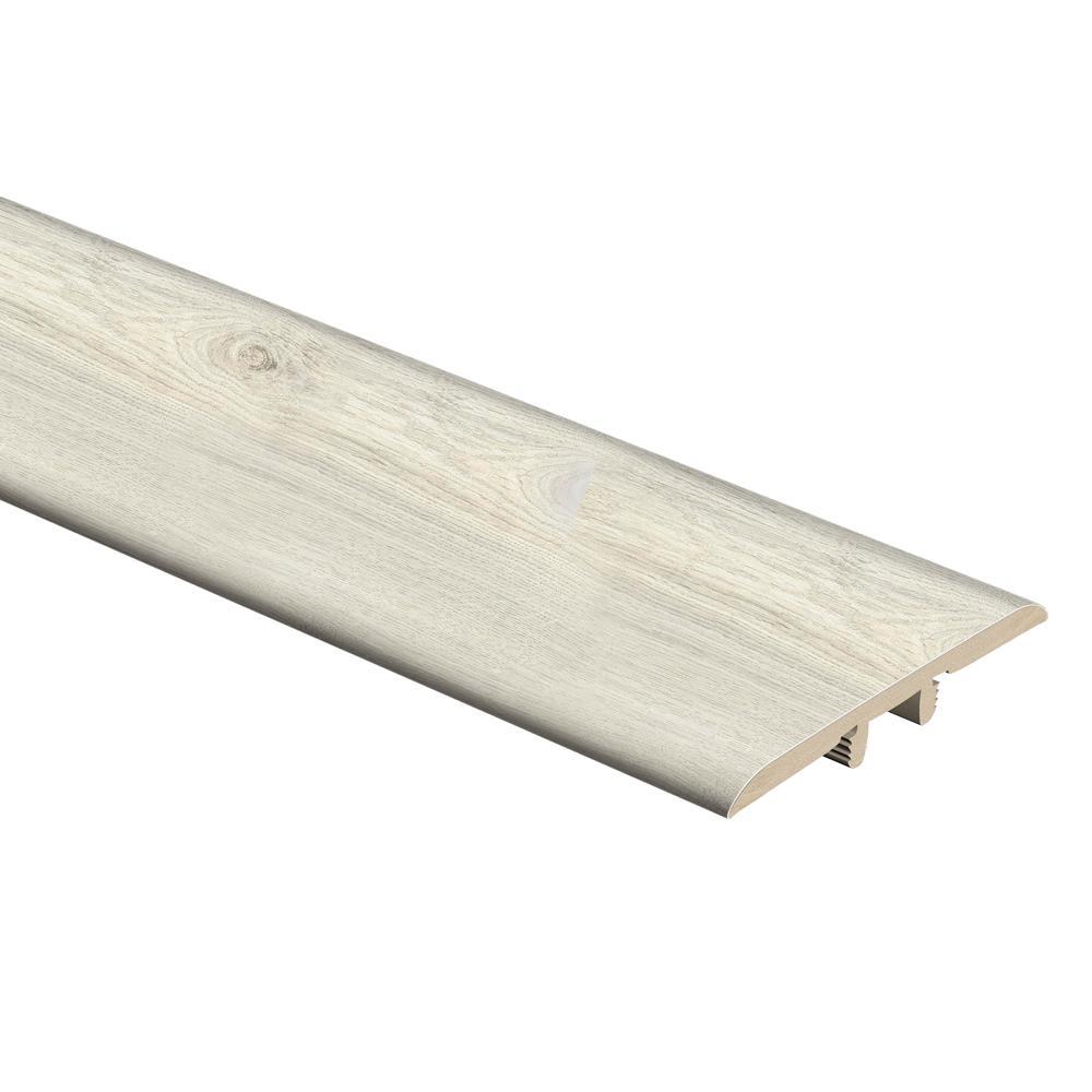 Ocala Oak/Chiffon Lace Oak/Salt Shore Wood 1/3 in. Thick x 1-3/4 in. Wide x 72 in. Length Vinyl T-Molding