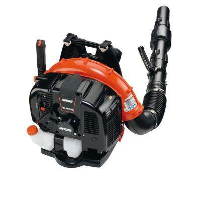 214 MPH 535 CFM 63.3 cc Gas 2-Stroke Cycle Backpack Leaf Blower with Hip Throttle