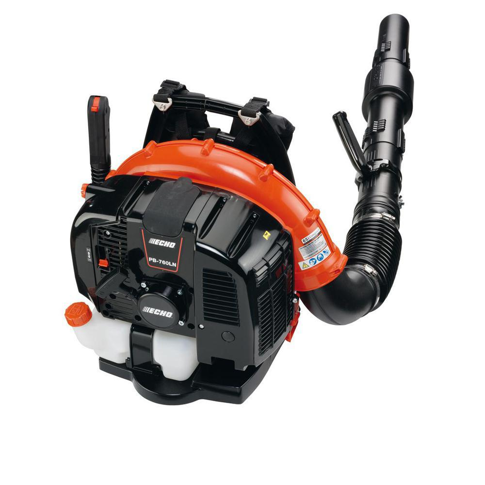 ECHO 214 MPH 535 CFM 63.3 cc Gas 2-Stroke Cycle Backpack Leaf Blower with Hip Throttle