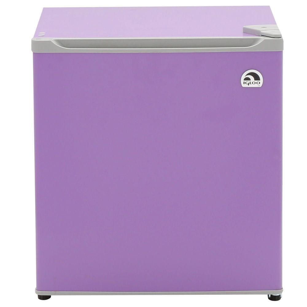 IGLOO 1.6 cu. ft. Mini Refrigerator in Purple