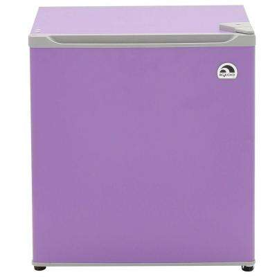 1.6 cu. ft. Mini Refrigerator in Purple