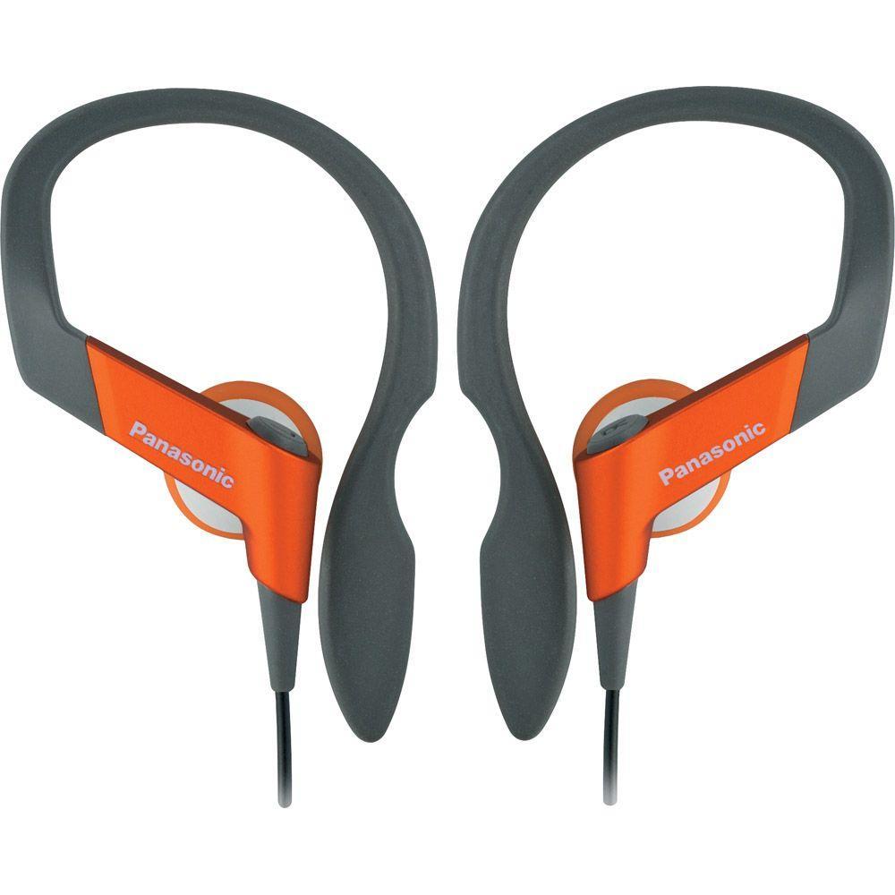 Panasonic Sports In-Ear Clip Earphone - Orange