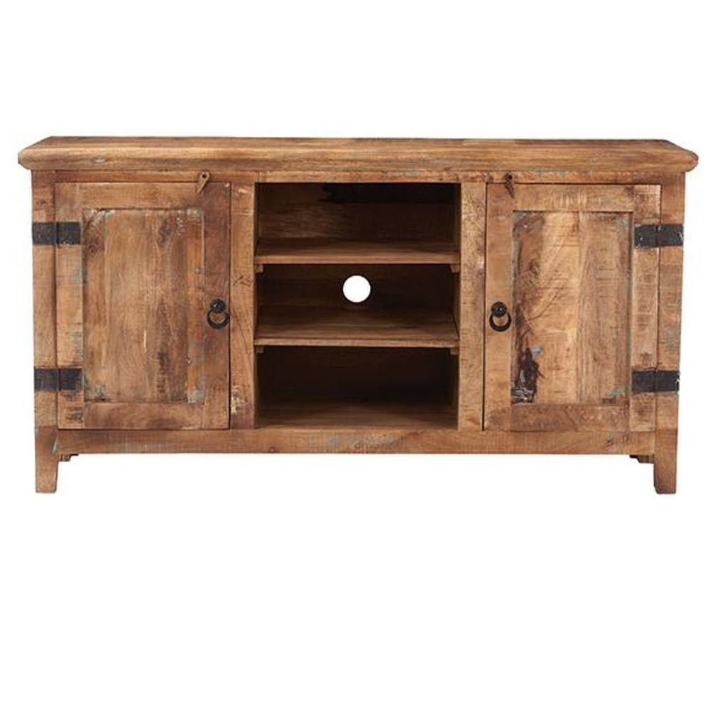 Home Decorators Collection Holbrook Reclaimed Natural Entertainment Center