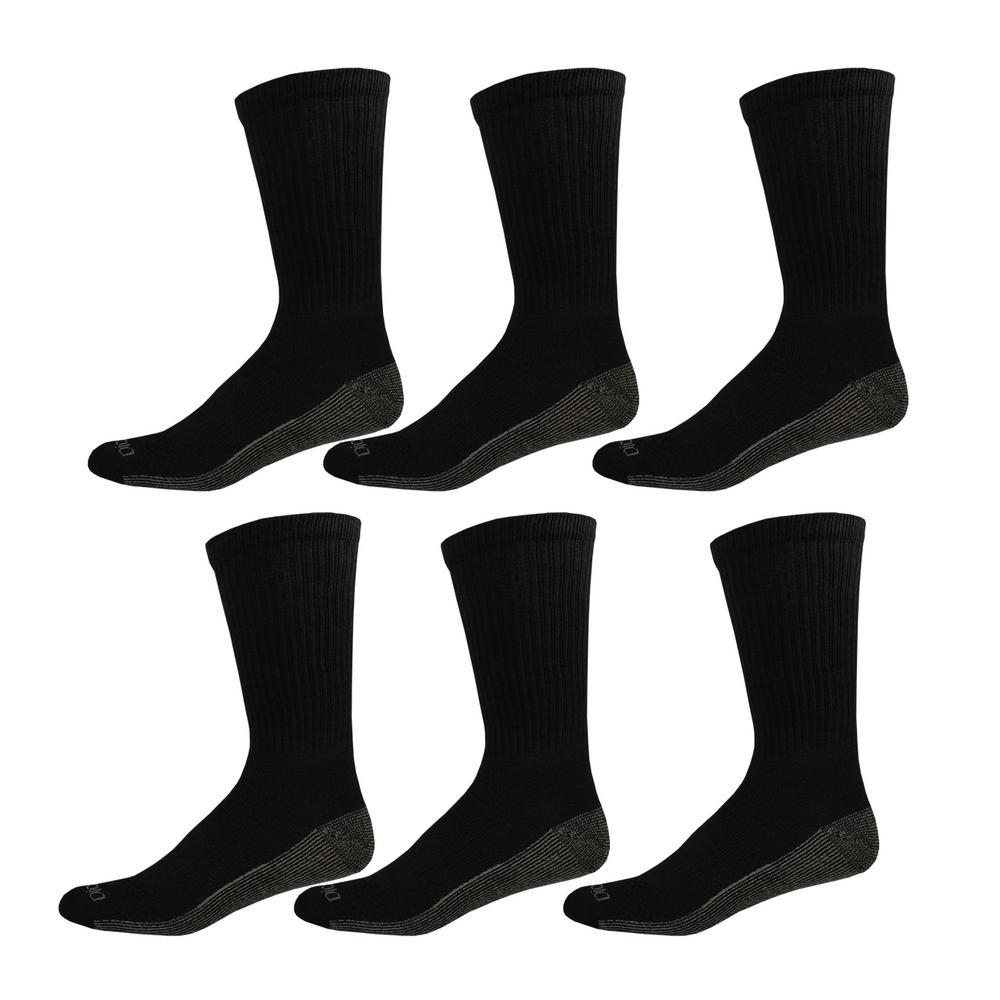 Dickies Men/'s Multi-Pack Dri-Tech Moisture Control Crew Socks