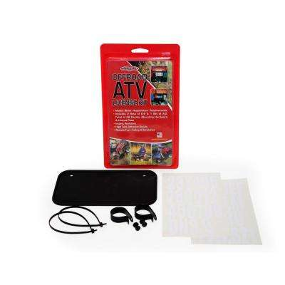 ATV License Kit, Black