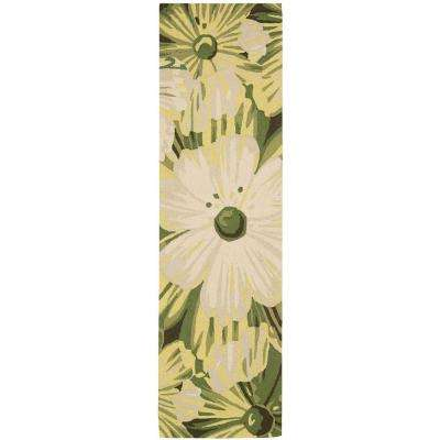 Fantasy Herb 2 ft. x 8 ft. Runner Rug