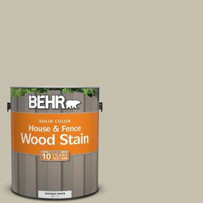 1 gal. #BXC-56 Stone Creek Solid Color House and Fence Exterior Wood Stain