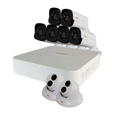 Ultra 8-Channel HD 2TB Surveillance NVR with (8) 4 Mega Pixel Cameras