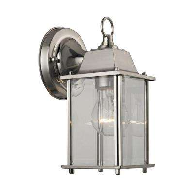 1-Light ...  sc 1 st  Home Depot & Outdoor Lanterns u0026 Sconces - Outdoor Wall Mounted Lighting - The ... azcodes.com