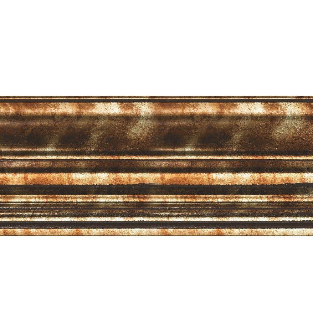 Classic 0.75 in. x 6.125 in. x 96 in. Wood Ceiling Crown Molding in Bermuda Bronze