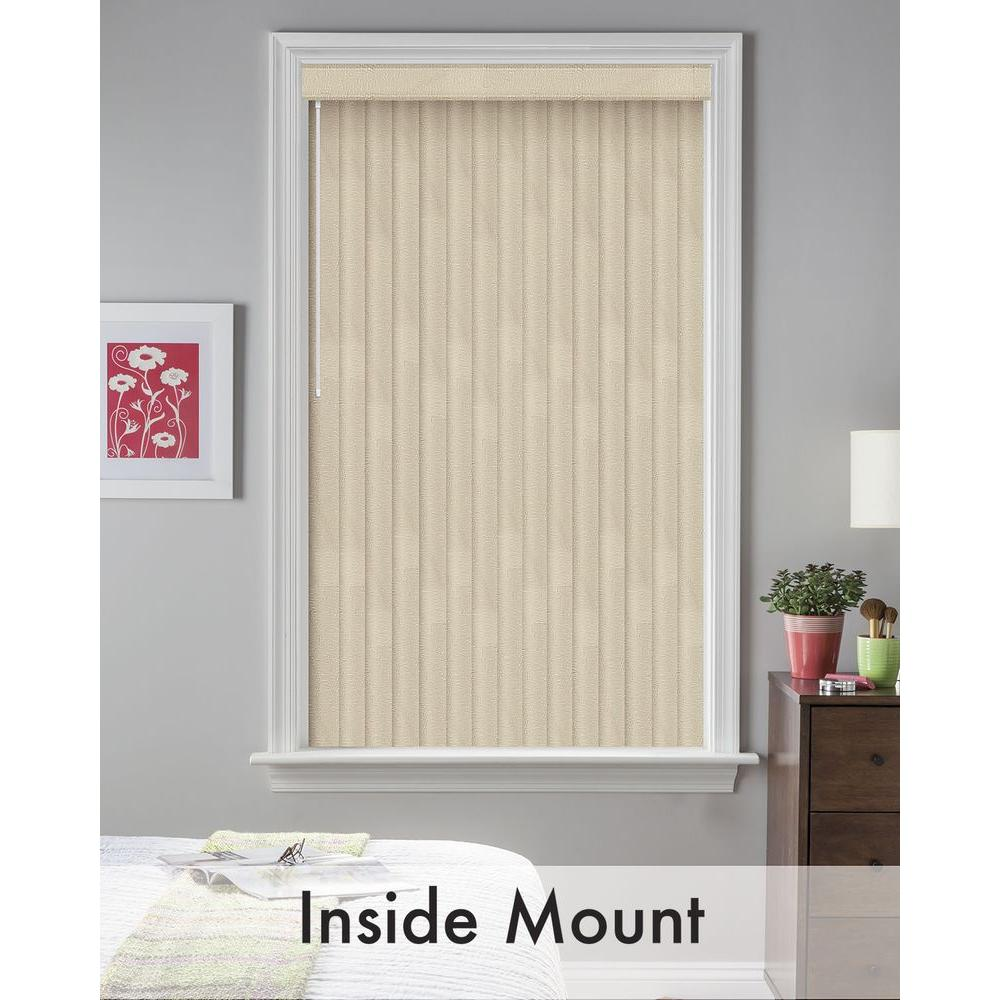 Bali Cut-to-Size Maui Shell 3.5 in. PVC Louver Set - 62.5 in. L (9-Pack)
