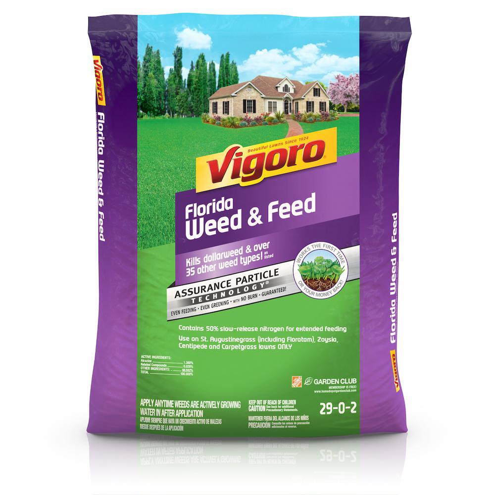 Vigoro 16 lb  5,000 sq  ft  Florida Weed and Feed