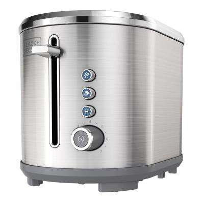 2-Slice Extra Wide Slot Toaster, Stainless