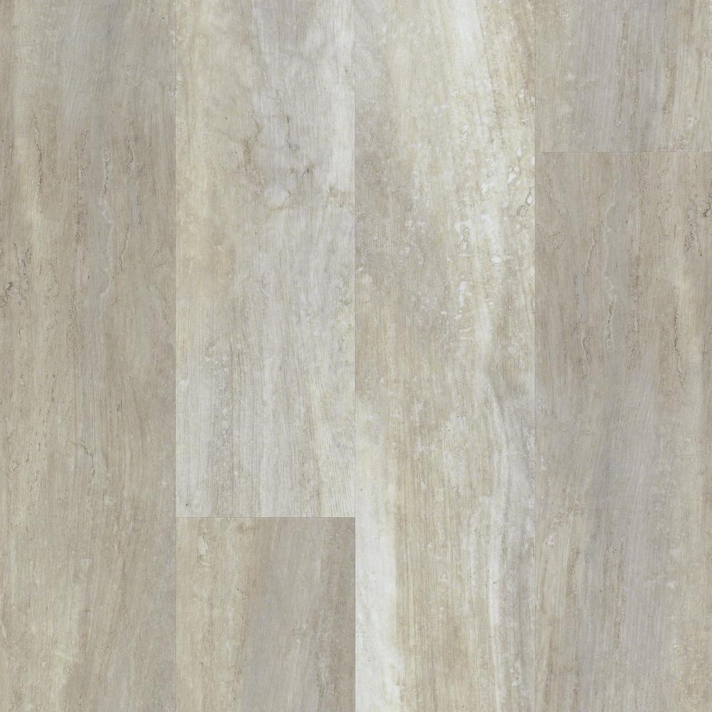 Floorte Jefferson 7 in. x 48 in. Beech Resilient Vinyl Plank Flooring (18.68 sq. ft. / case)
