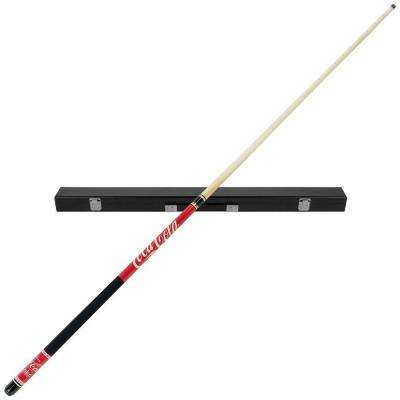 Coca-Cola Billiard Pool Cue Stick with Case