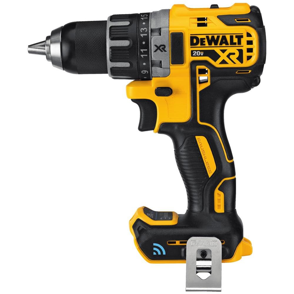 DEWALT 20-Volt MAX XR with Tool Connect Brushless Lithium-Ion Cordless Compact Drill/Driver (Tool Only)