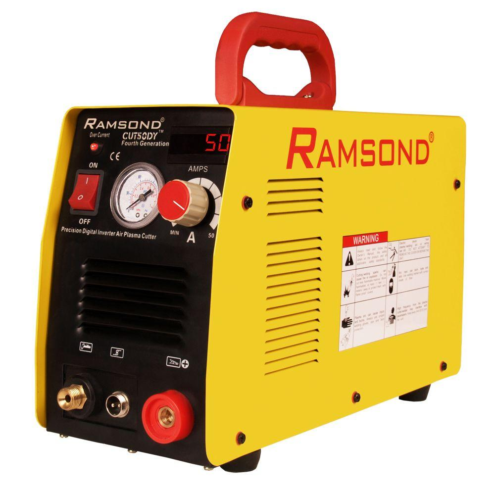 Ramsond 50 Amp Dual Voltage Digital Inverter Plasma Cutter