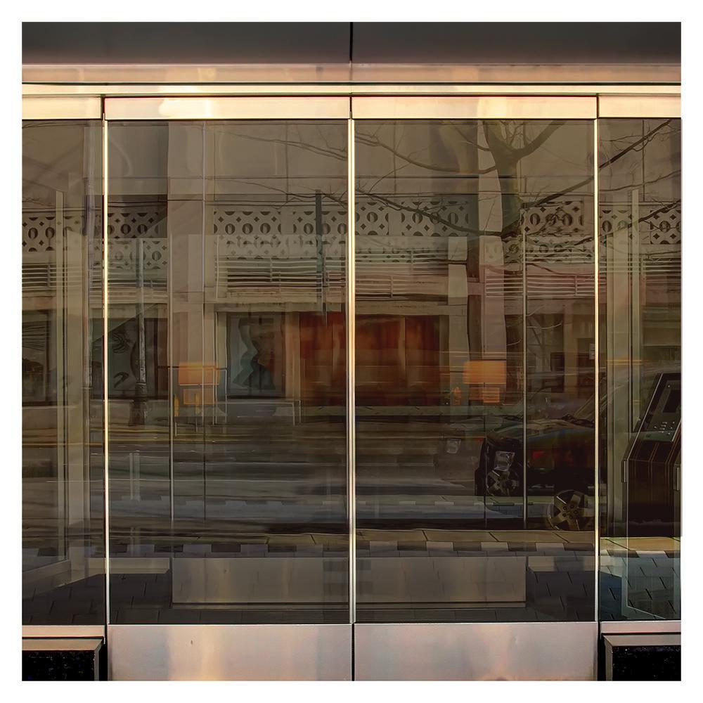 bronze window tint car 48 in 50 ft brz35 bronze 35 heat control window film treatments the home depot