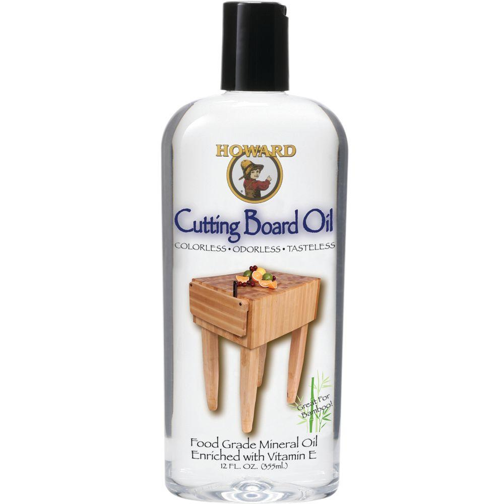 Howard 12 oz  Cutting Board Oil-BBB012 - The Home Depot