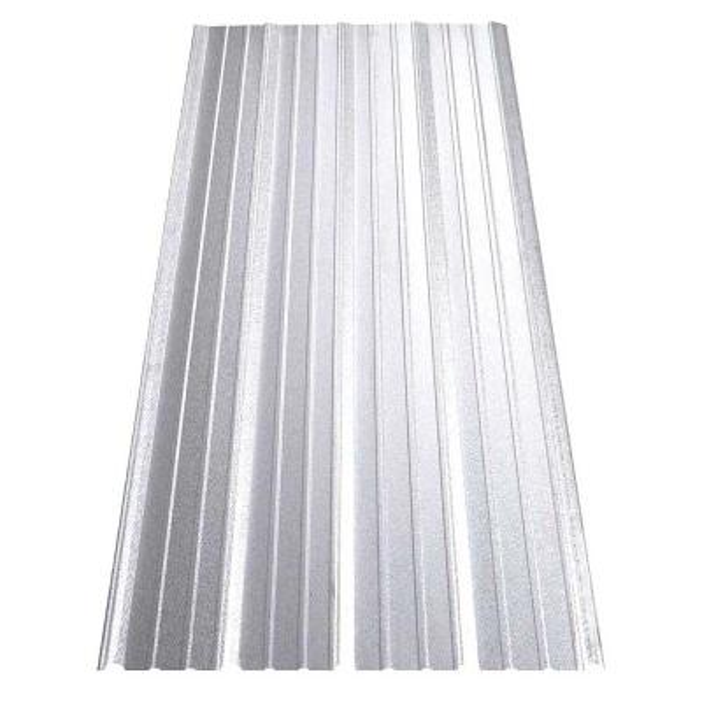 8 ft. SM-Rib Galvalume Steel 29-Gauge Roof/Siding Panel