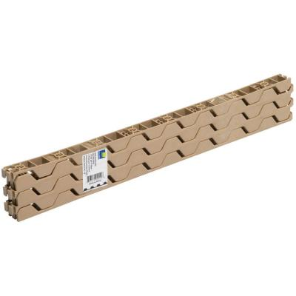 24 in. Horizontal Plastic Closure Strips (6-Pack)