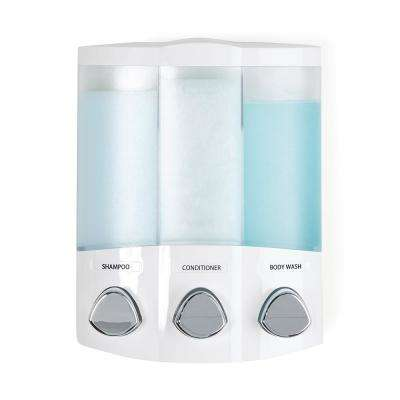 Trio Dispenser in White
