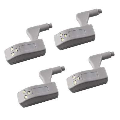 Hinge Gadget Wireless Closet and Drawer Light (4-Pack)