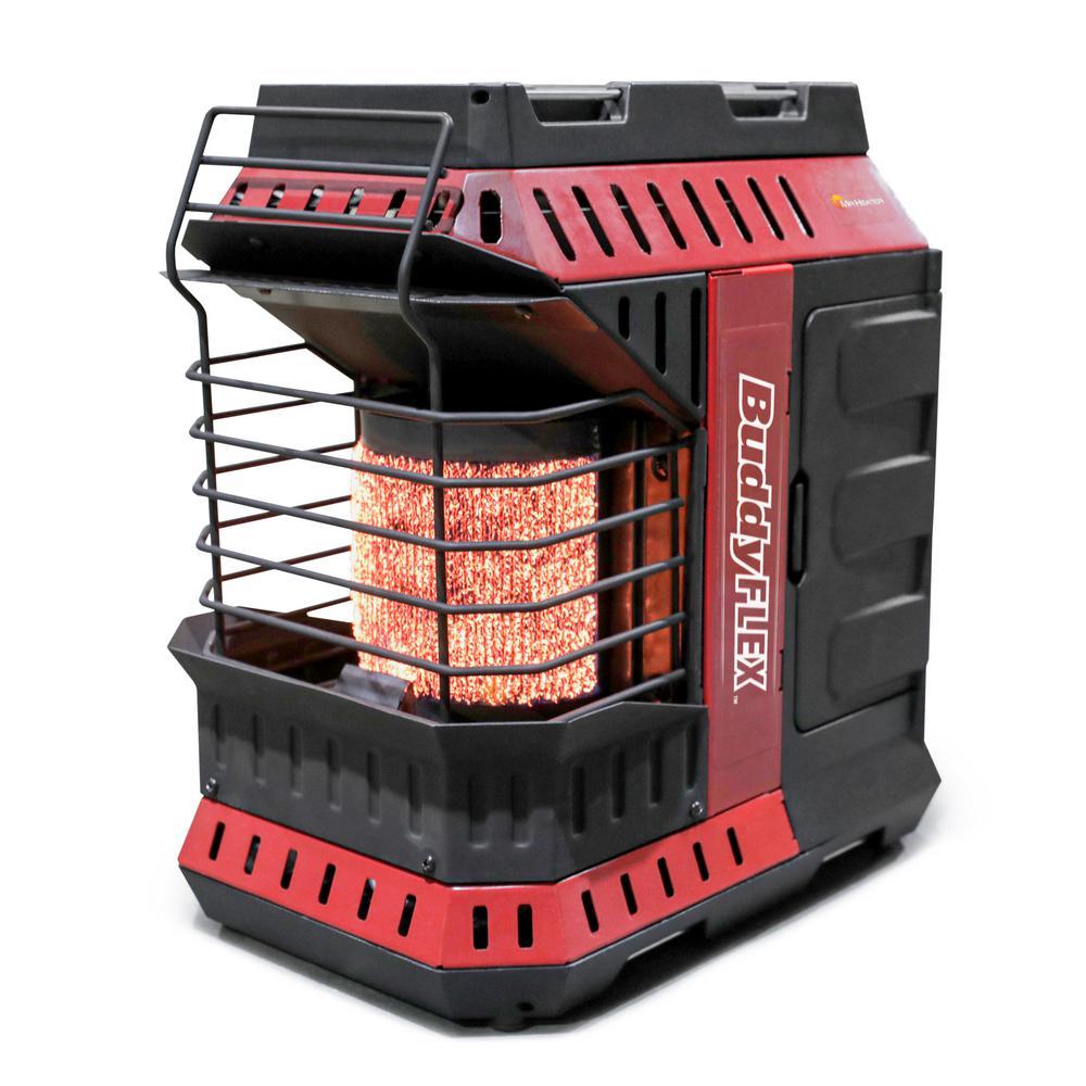 11,000 BTU Buddy FLEX Portable Propane Radiant Heater (Massachusetts Version)