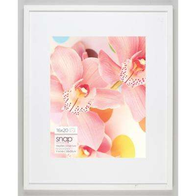 11 in. x 14 in. White Picture Frame
