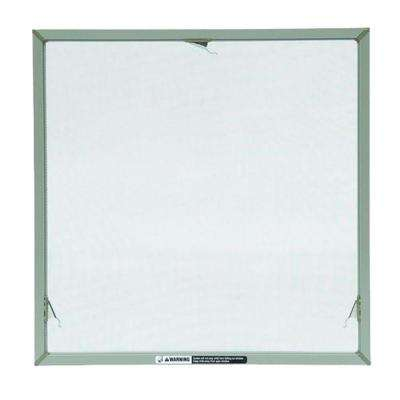 TruScene 31-31/32 in. x 20-5/32 in. Stone Awning Insect Screen