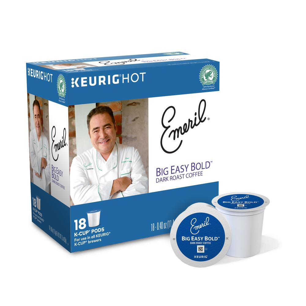 Kcup Pack Emeril's Big Easy Bold Coffee 108 Count