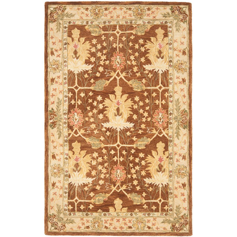 "1 New Hope Burgundy Cream Print 9 1//2/"" Country Cotton Accent Mat"