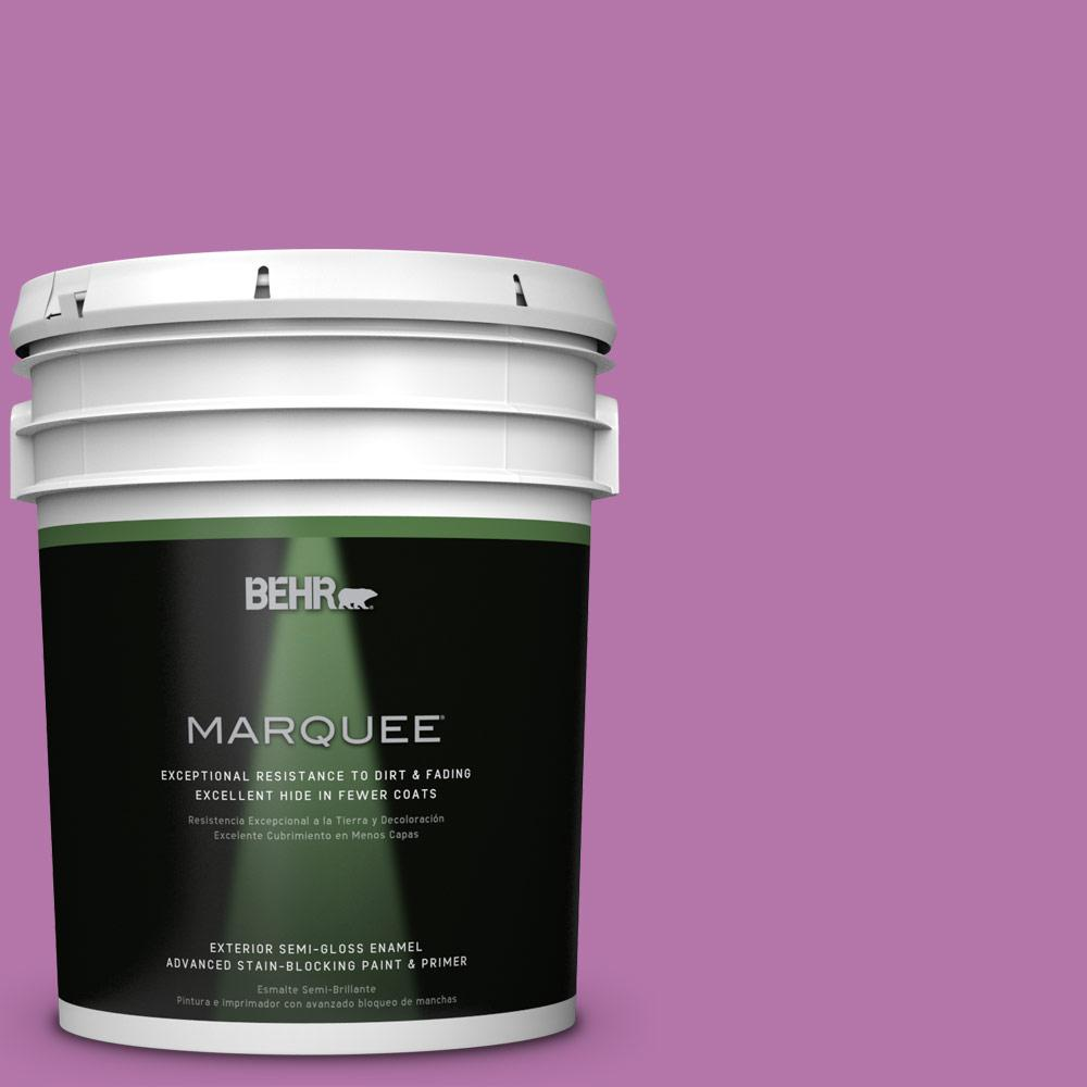 BEHR MARQUEE 5-gal. #P110-5 Girls Only Semi-Gloss Enamel Exterior Paint