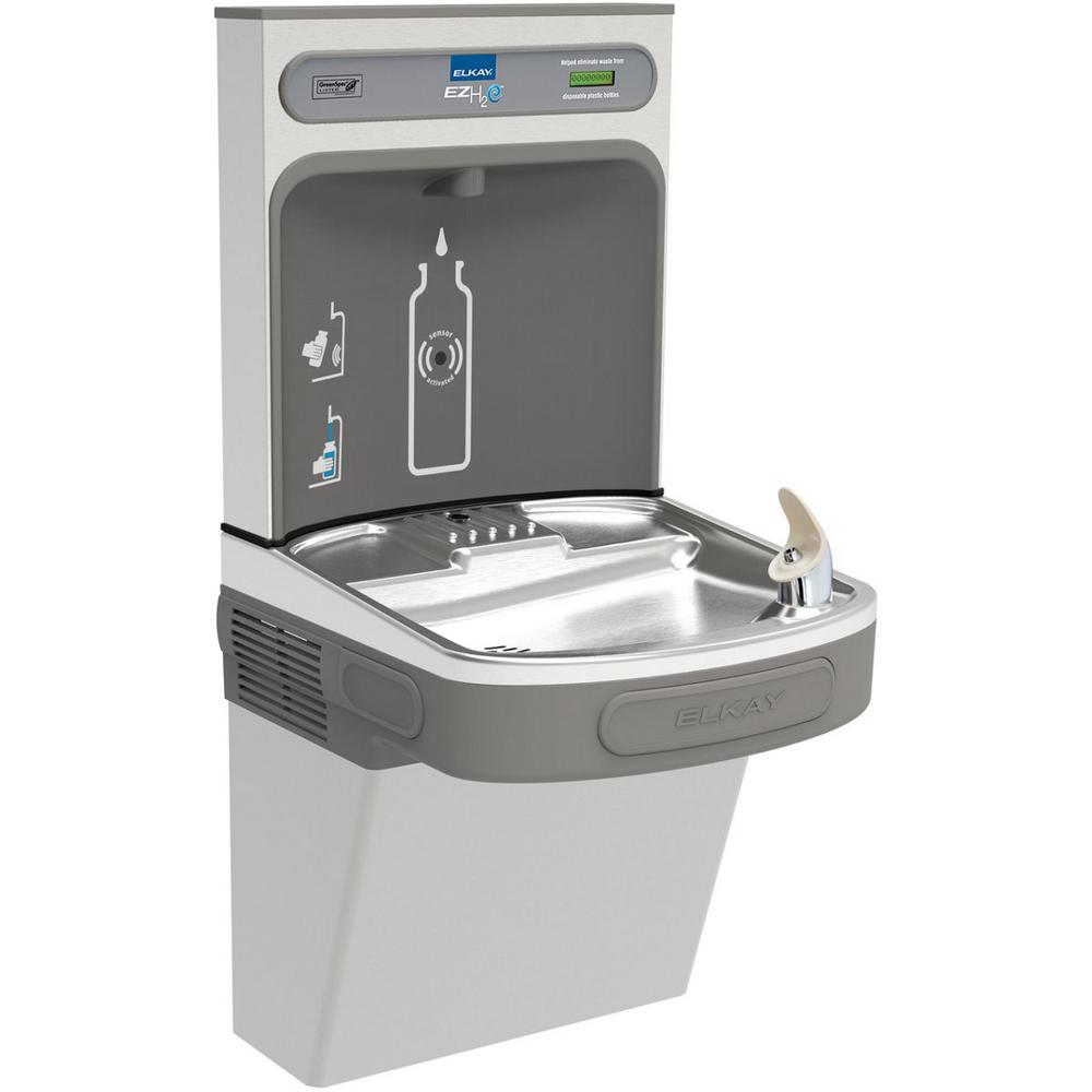 Non-Filtered Non-Refrigerated EZH2O ADA Stainless Steel Drinking Fountain with