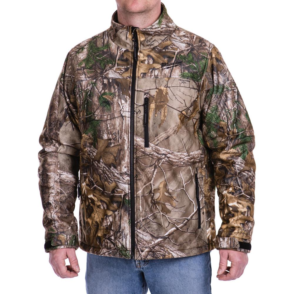2XL M12 12-Volt Lithium-Ion Cordless Realtree Xtra Heated Jacket (Jacket-Only)