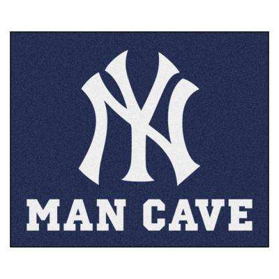 MLB - New York Yankees Man Cave Tailgater 5 ft. x 6 ft. Indoor Area Rug