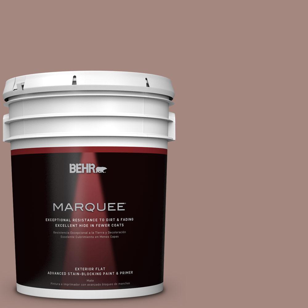 BEHR MARQUEE 5-gal. #BNC-11 Pink Granite Flat Exterior Paint