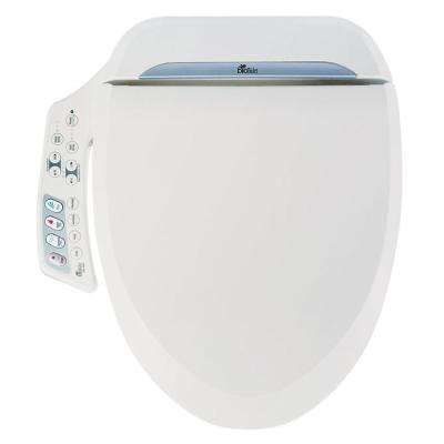 Ultimate Electric Bidet Seat for Round Toilets in White