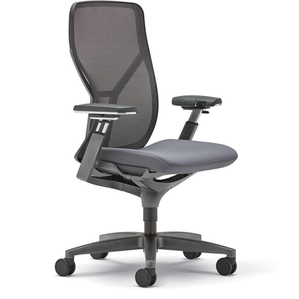 Almo Fulfillment Acuity Black Mesh Back Task Chair 19636
