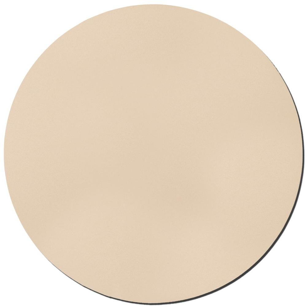 Owens Corning 36 in. Beige Circle Acoustic Sound Absorbing Wall Panels (2-Pack)