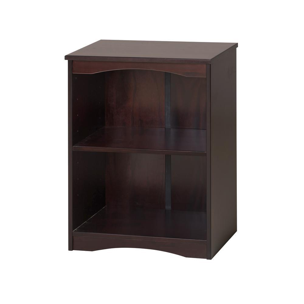 Essentials Cappuccino 23 in. W Wooden Bookcase