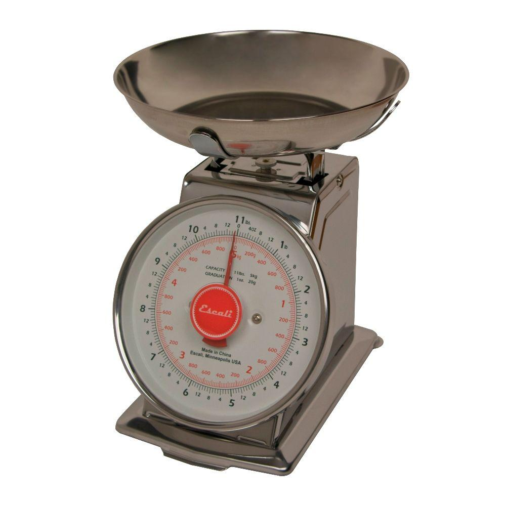Escali mercado analog food scale ds115b the home depot for Perfect scale pro review