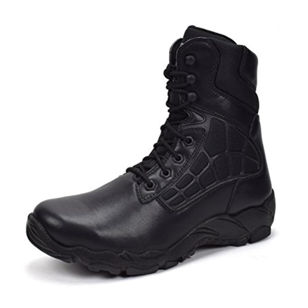 Men's 8 in. Black 11 E US Steel Toe Work Boot