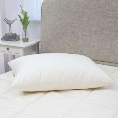 300 Thread Count Organic Cotton with Recycled Polyester Blend King Pillow (Set of 2)