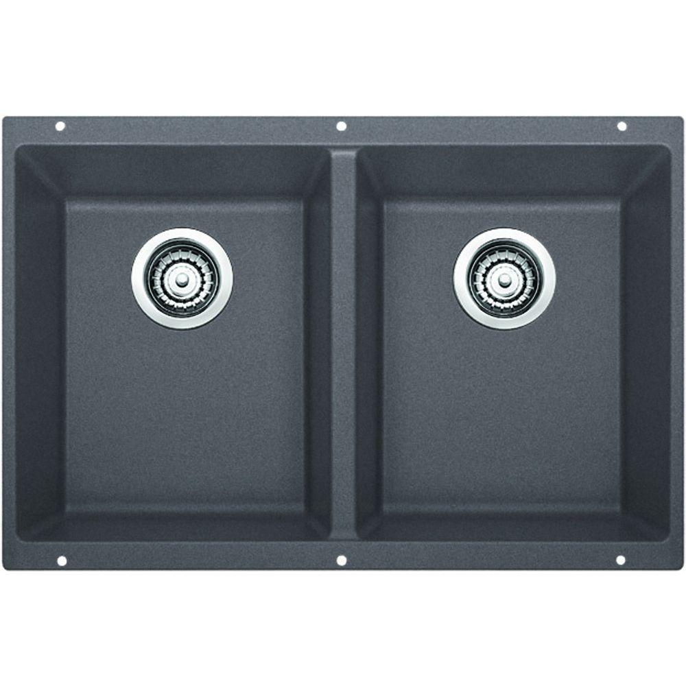 blanco undermount kitchen sink blanco precis undermount granite composite 29 75 in equal 4787